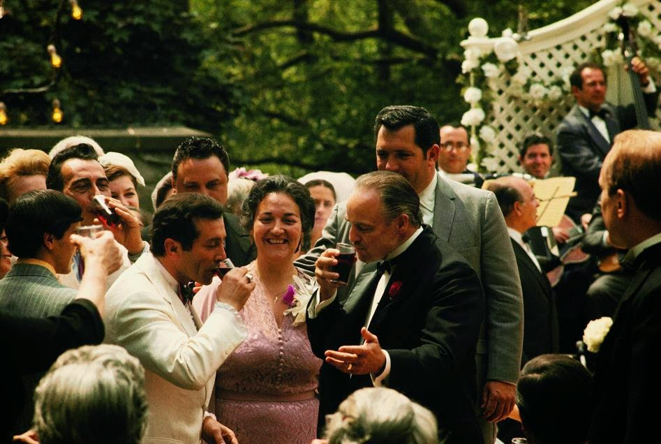 30 Amazing Behind The Scenes Photos From The Godfather Trilogy Vintage Everyday