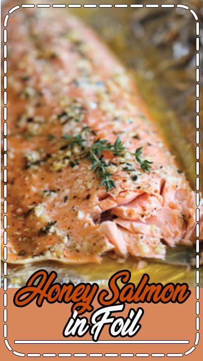 A no-fuss, super easy salmon dish that's baked in foil for the most tender, most flavorful salmon ever!