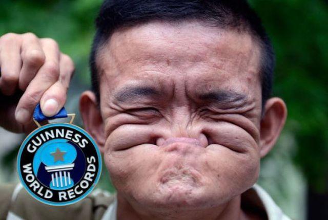 guinness world record certificate template - monsterz lelaki ini pecahkan rekod buat muka paling hodoh