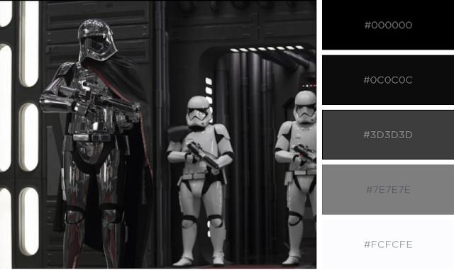 Paleta de cores Star Wars - Marcela Miranda Designer Blog