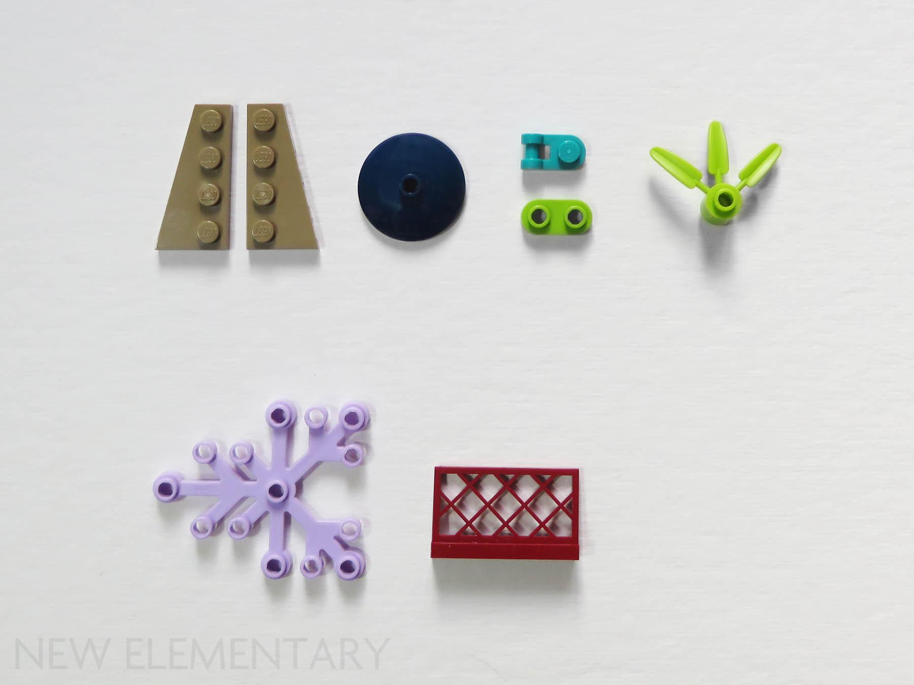 Lego 47407-2x flat wedge 4x6-Dark Blue//Dark Blue-new new