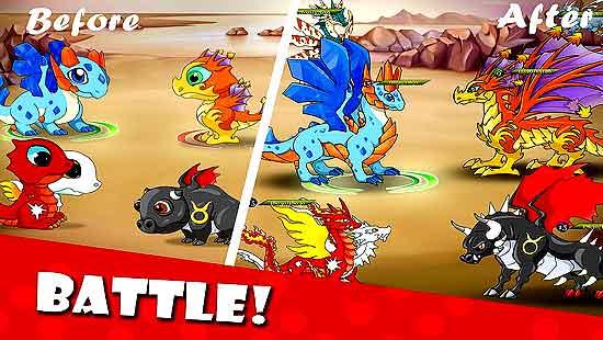 Dragon Battle Mod Hack Apk