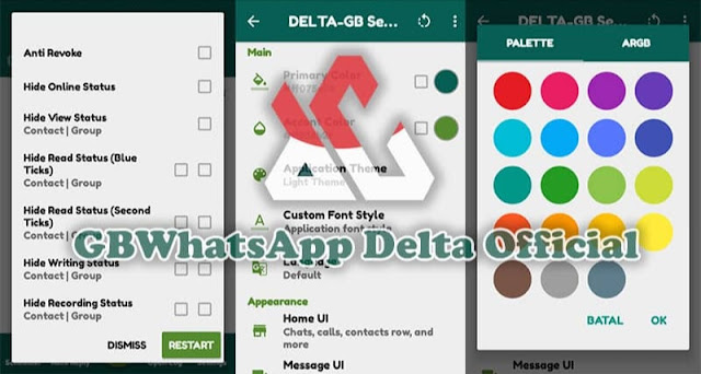 √ Delta GB WhatsApp Anti Blokir Terbaru 2021