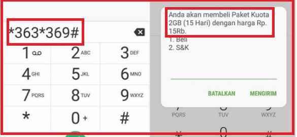 Promo Paket Internet Murah Telkomsel kuot 2Gbharga Rp15000 berikut cara mengaktifkan paket murah