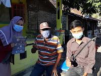 Tak ingin kumpulkan warga, Mahasiswa UMM lakukan penyuluhan door to door di Sampang