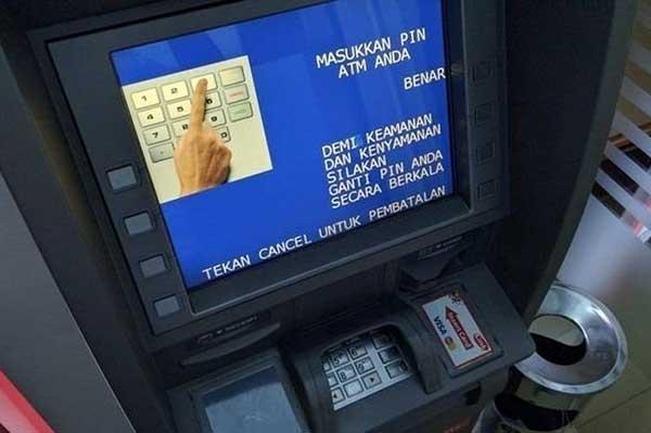 Transfer di Mesin ATM BRI Struk Tidak Keluar