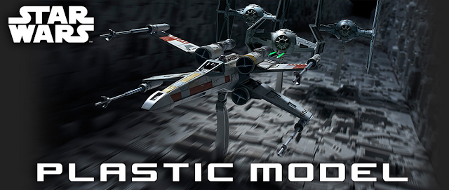 Star Wars Plastic Model - X-Wing Starfighter Moving Edition