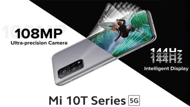 Mi 10T Series 5G to be Launched Mi 10T With Mi 10T Pro on 15 Oct