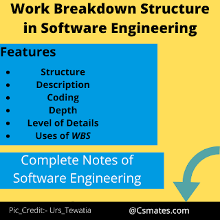 work breakdown structure in software engineering