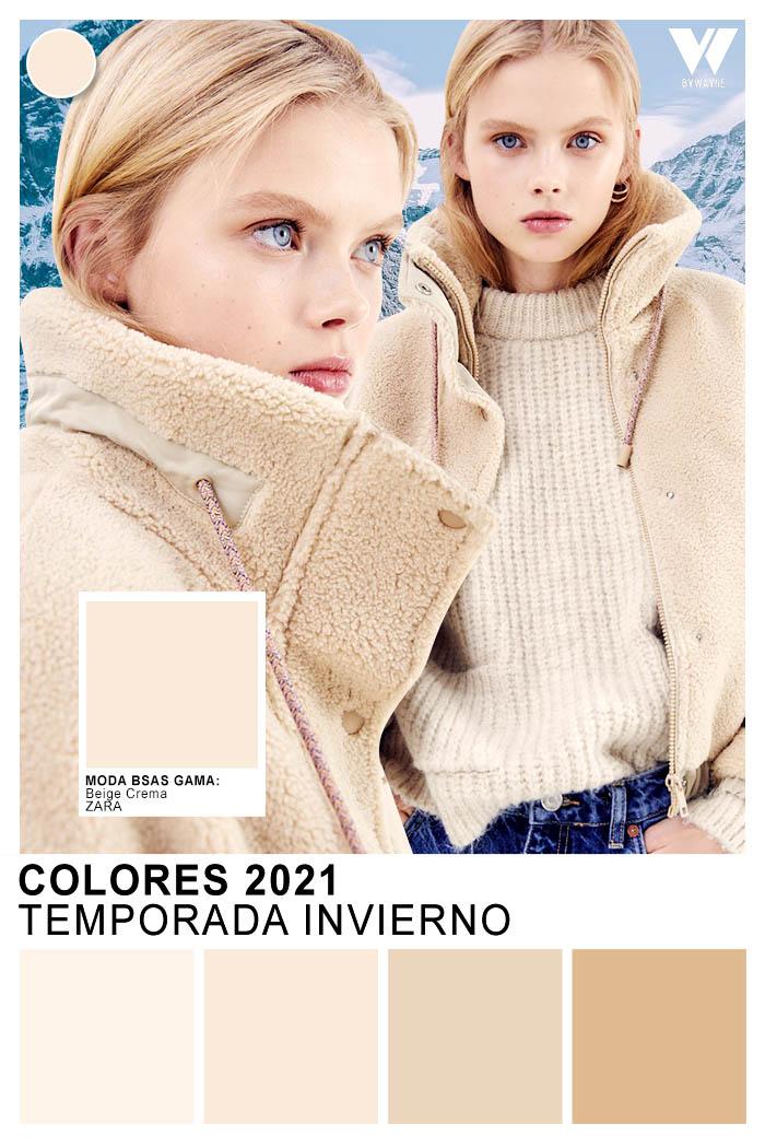 Zara Colores de la temporada otoño invierno 2021 Moda invierno 2021 colores