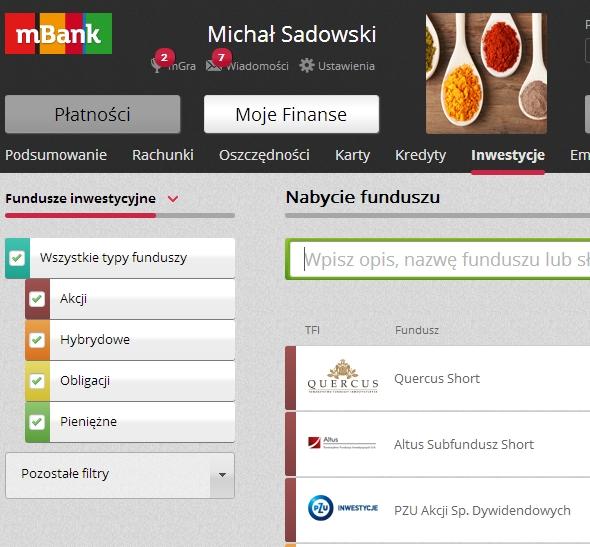 mBank fundusze czy BossaFund w domu maklerskim BOŚ