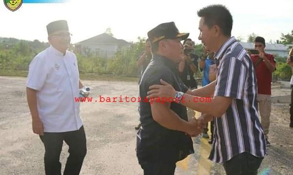 Gubernur Kalteng H. Sugianto Sabran Menjadi Irup HUT Barut ke 69