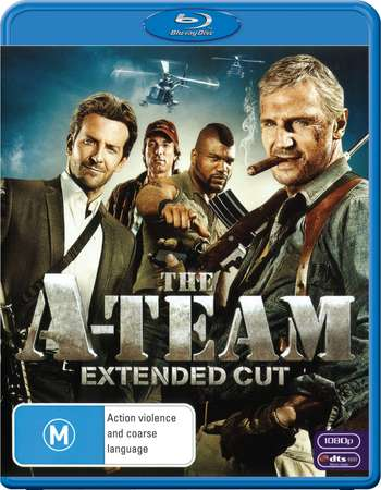 Poster Of The A-Team 2010 Dual Audio 350MB BRRip 480p - Extended Free Download Watch Online