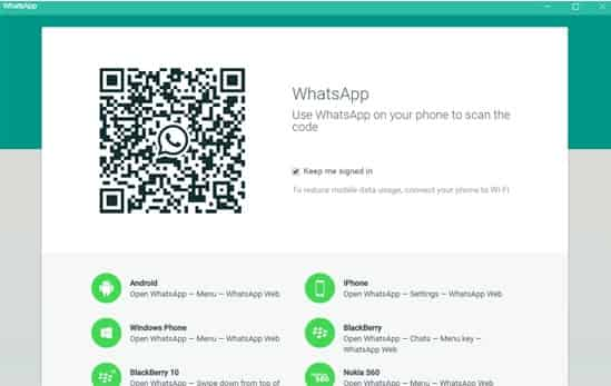 Whatsapp Versi Desktop Windows 7, 8.1, 10