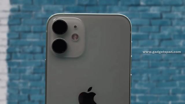 Apple iPhone 12 mini camera