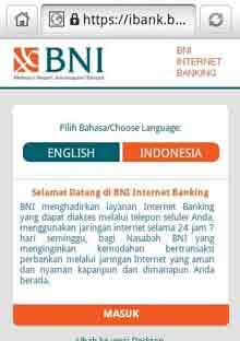 Cara Daftar Internet Banking BNI dengan Mudah