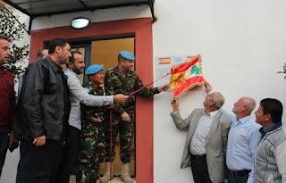 Mantap Prajurit TNI Satgas Indobatt Bantu Renovasi Pabrik Penggilingan Tepung di Lebanon Selatan - Commando