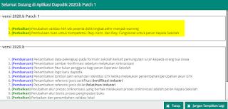cara instal dapodikdasmen 2020b patch 1