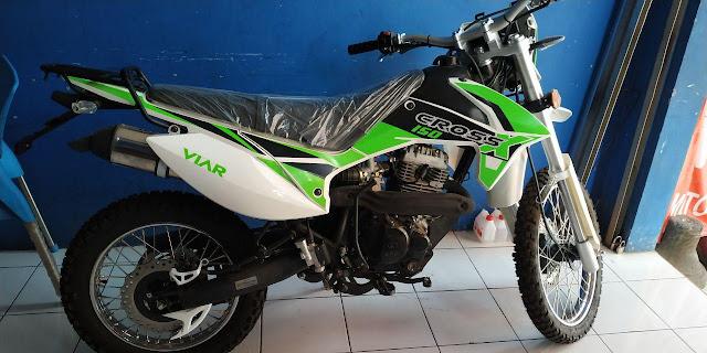Harga Motor Viar New Cross X 150 di Semarang - by inukotovlog