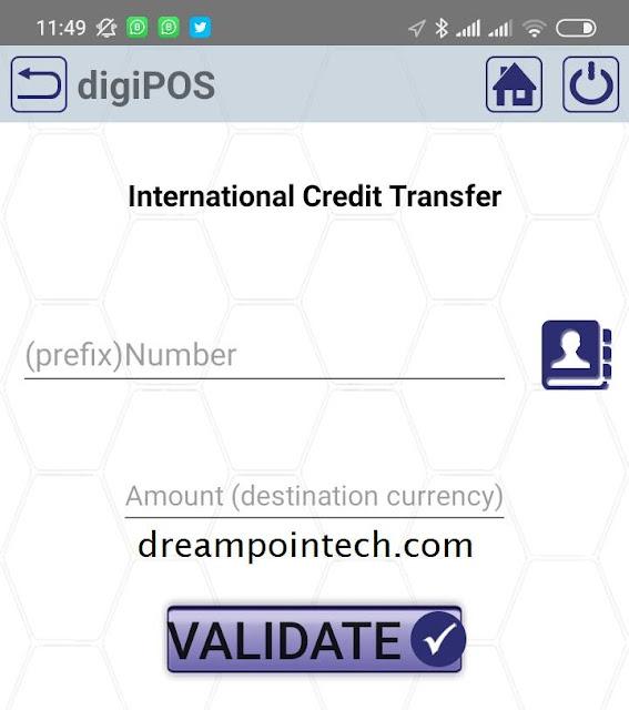 International Credit Transfer