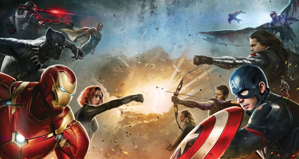 Arte Conceptual Captain America: Civil War