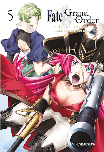 El quinto volumen de Fate/Grand Order ~turas réalta~