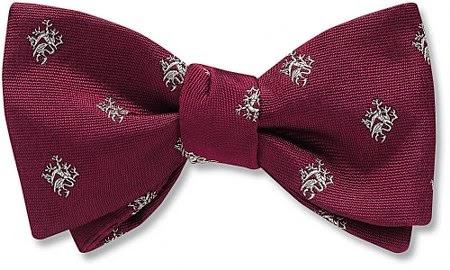 Griffin bow tie from Beau Ties Ltd.