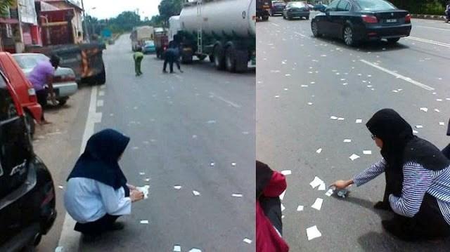 Sobekan Kertas Di Jalanan Yang Ternyata Lembaran Al Qur'an Ini Membuat Geram Umat Islam