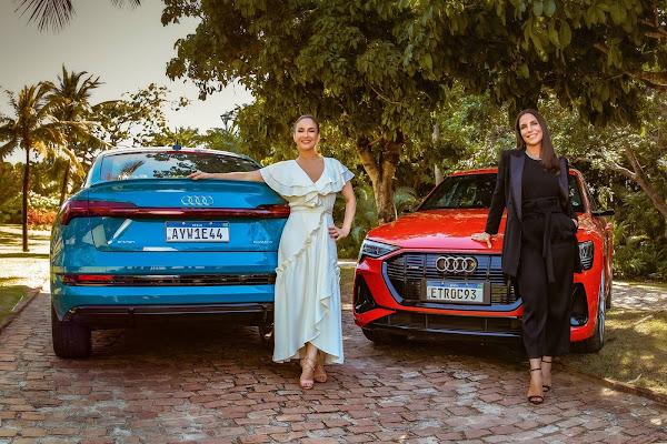 Claudia Leitte e Ivete Sangalo trocam trio por carro elétrico no Carnaval