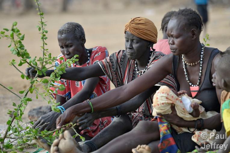famine south sudan 2017
