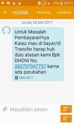 SMS Penipuan Berhadiah, Beli Rumah, Beli Tanah dan Undian Bank