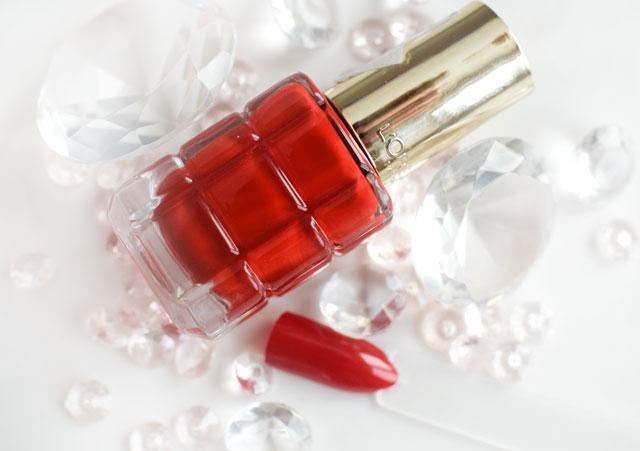 L'Oréal Color Riche Le Vernis Öl-Nagellack 552 Rubis Folies
