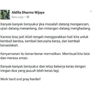 quote aldilla dharma wijaya