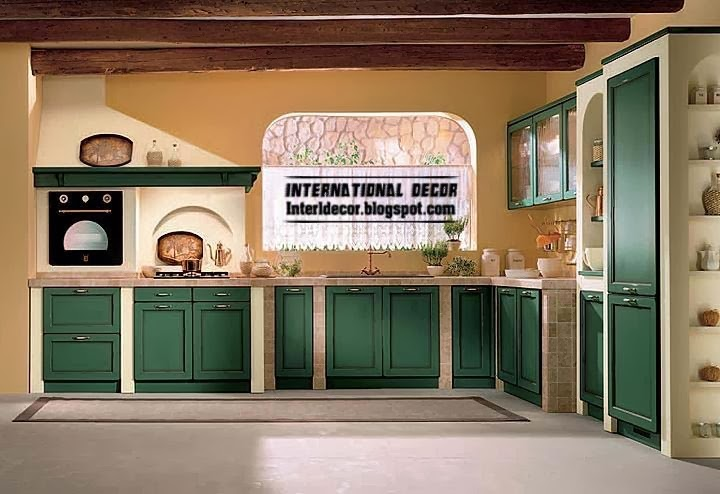 Country style kitchens 15 the best kitchens in country style for Country style kitchen b q