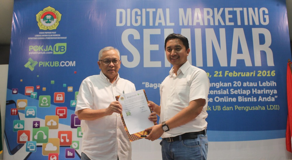POKJA UB Gelar Digital Marketing untuk Tingkatkan Bisnis