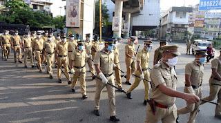 police covid 19