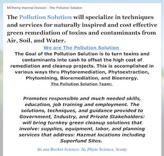 The Pollution Solution Company Tagline https://mohemp.blogspot.com//p/mohemp-energy.html