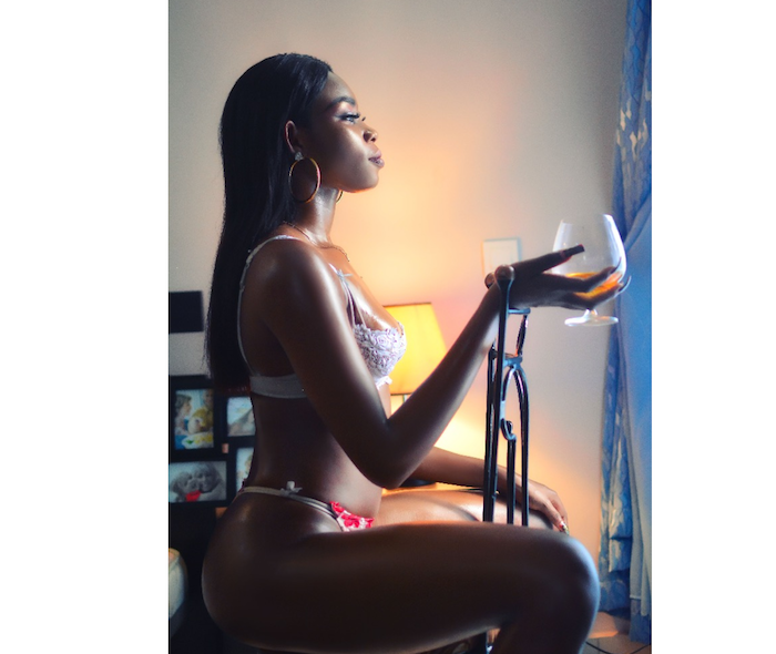 Miss Ambassador For Peace Contestant, Shelly Girl, Goes Nude In Bathtub Photos -2739