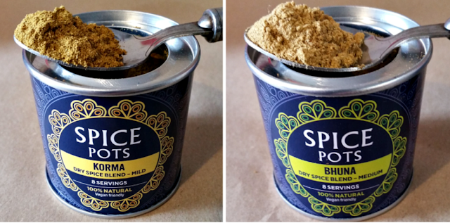 Opened spice pots 1