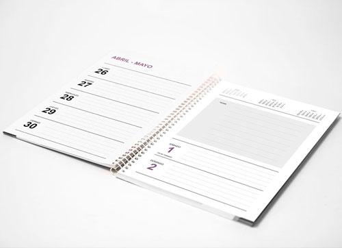 Agenda editable semanal 2021 para imprimir gratis