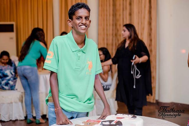 samitha mudunkotuwa s son   shenu s birthday sri lanka
