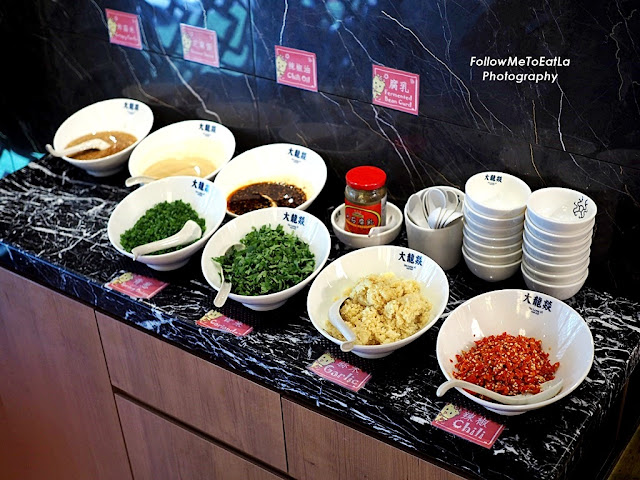 Dipping Sauce Counter