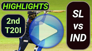 SL vs IND 2nd T20I 2021