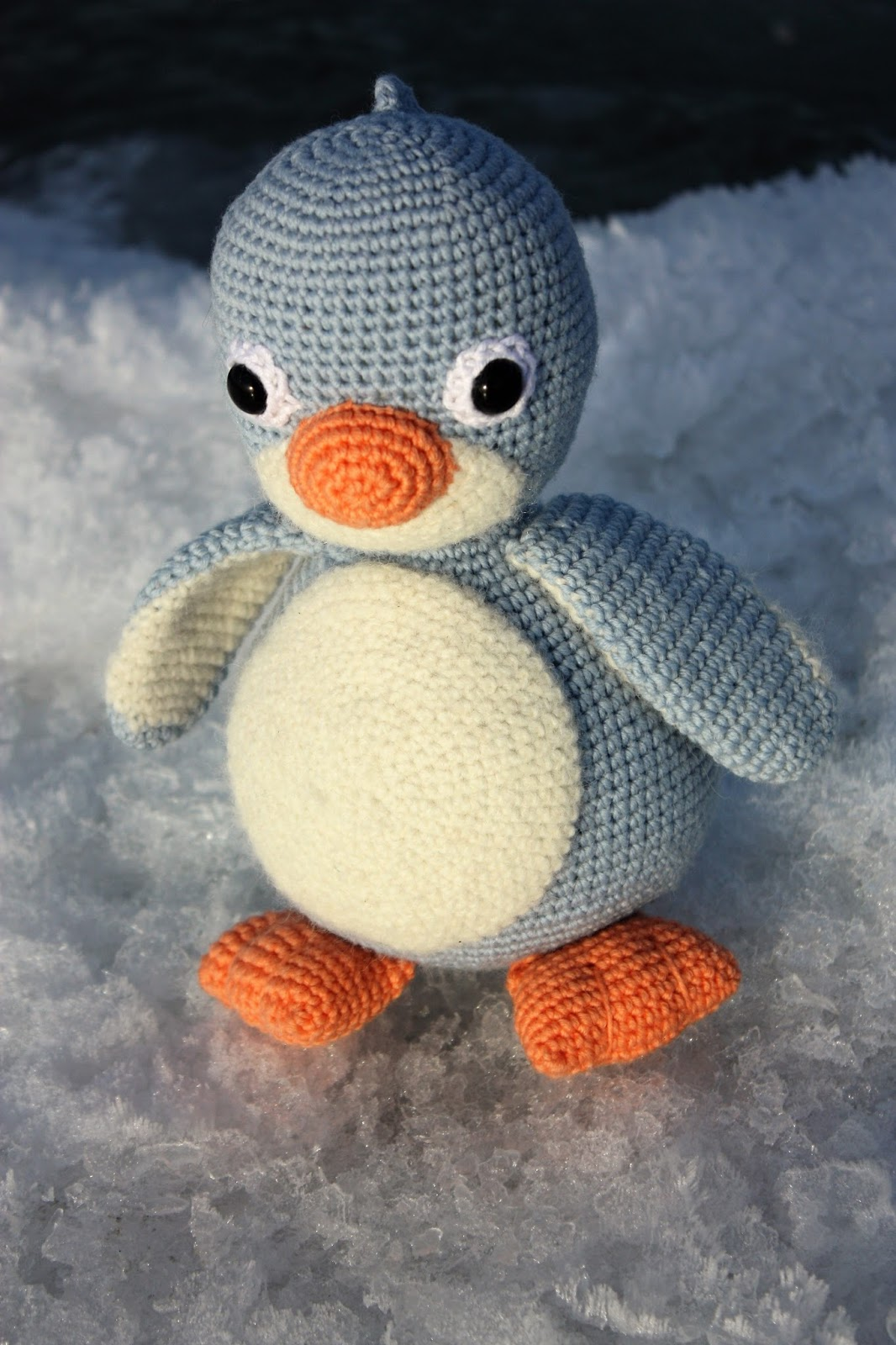 Amigurumi Penguin Crochet : Happyamigurumi amigurumi crochet penguin pattern cara