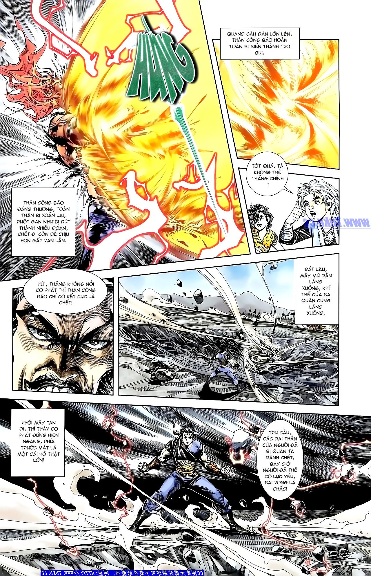 Cơ Phát Khai Chu Bản chapter 159 trang 16