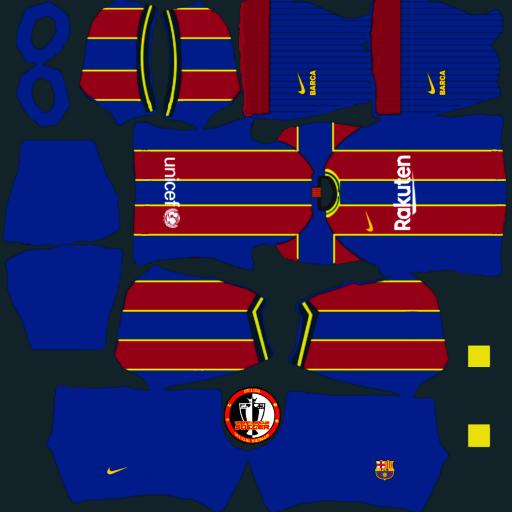 Kits FC Barcelona mùa giải 2021 - Dream League Soccer 2021