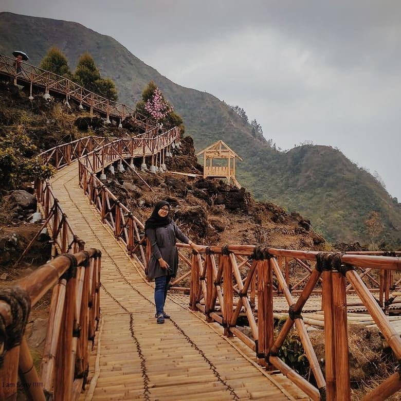 Spot Foto Sibajag Green Canyon