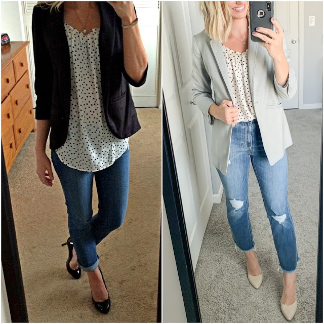 What I Wore Then vs. What I Wore Now