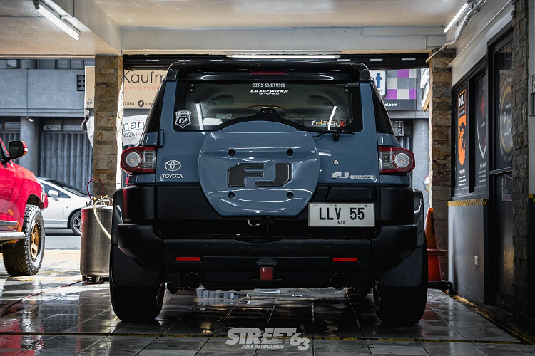 Toyota FJ Cruiser độ tại Philippines gây bất ngờ bởi sự hoàn hảo