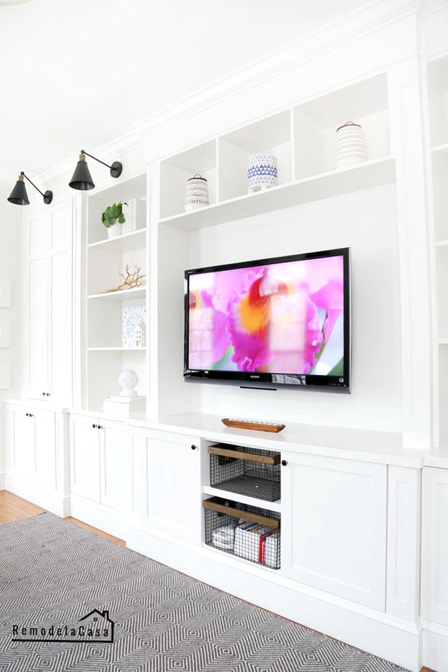 Rlc - family room entertainment center